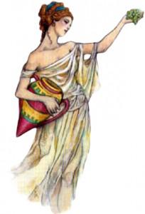 Hestia - Koldetule ja kodurahu jumalanna